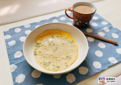 早餐自己做更安心!營養師分享免擀麵皮「傳統蛋餅皮」食譜