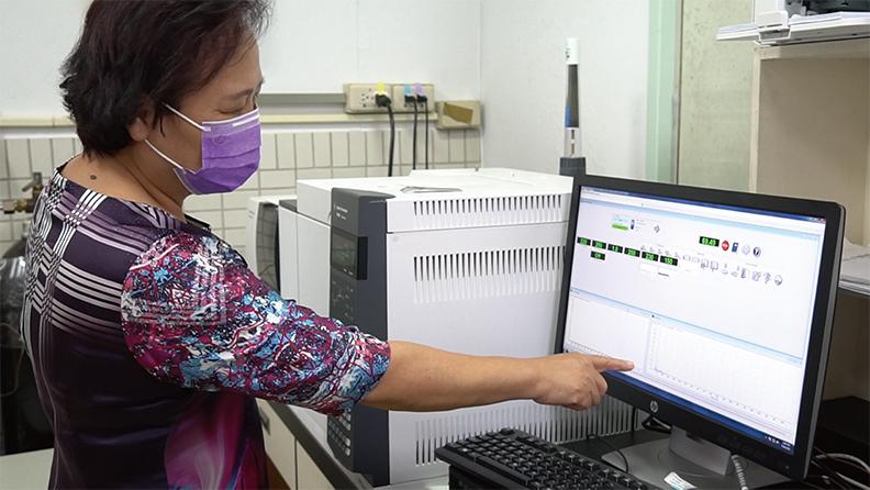 林麗雲特聘教授分析化合物研究過程