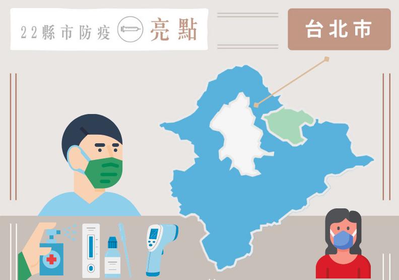 抗疫有術!台北領先全國「科技戰」碾壓病毒,疫苗圍堵續拚防守