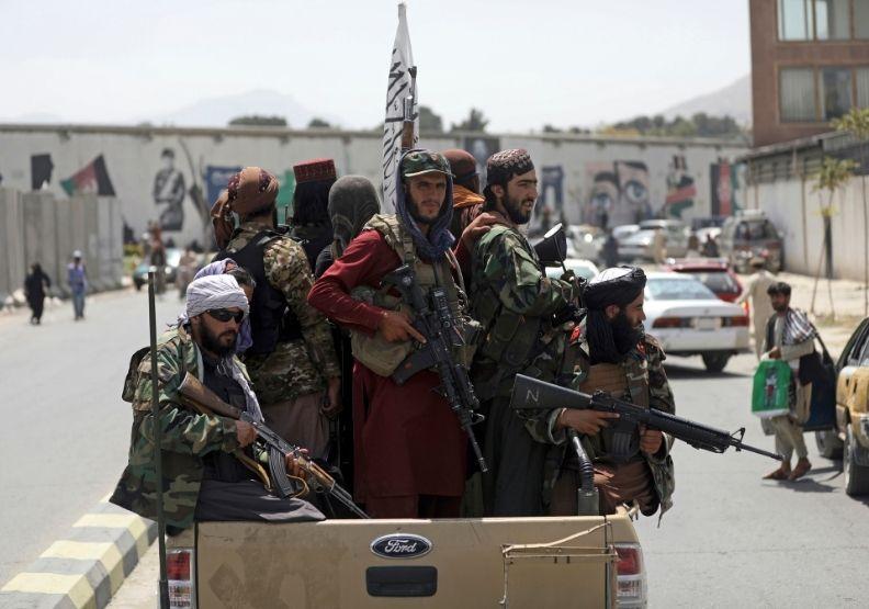 阿富汗首都淪陷僅耗時短短九天。圖片來自達志影像