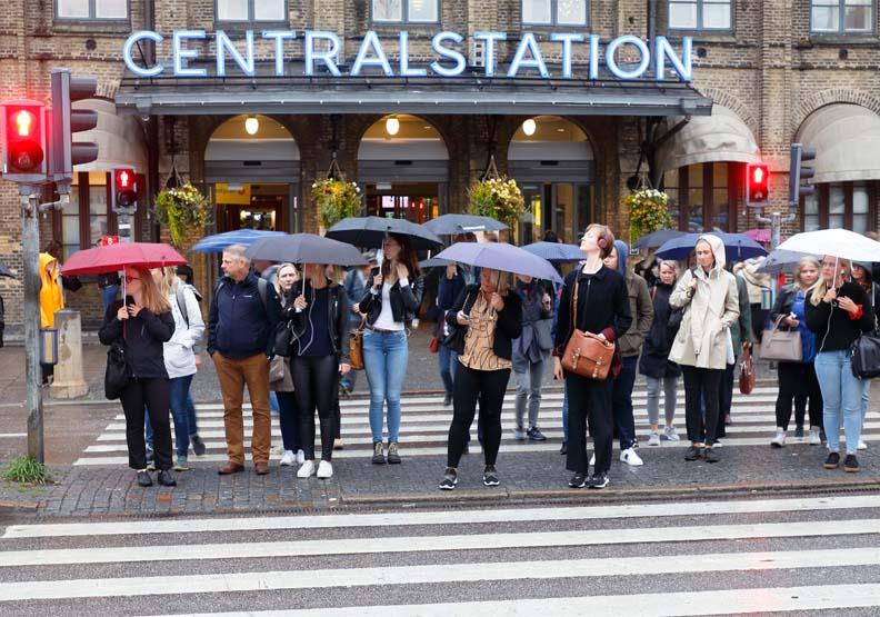 當地市民也參與「雨哥德堡」計畫,來源:Shutterstock(示意圖)。