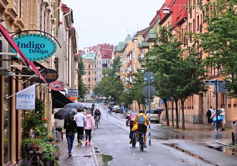 將雨水變成資產!瑞典哥德堡打造:下雨時,世界上最好的城市