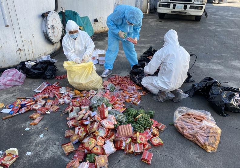 非洲豬瘟中央災害應變中心昨天表宣布,首度查獲有非洲豬瘟病毒走私肉品,此案是自越南透過空運快遞輸入,總量逾71公斤。防檢局提供