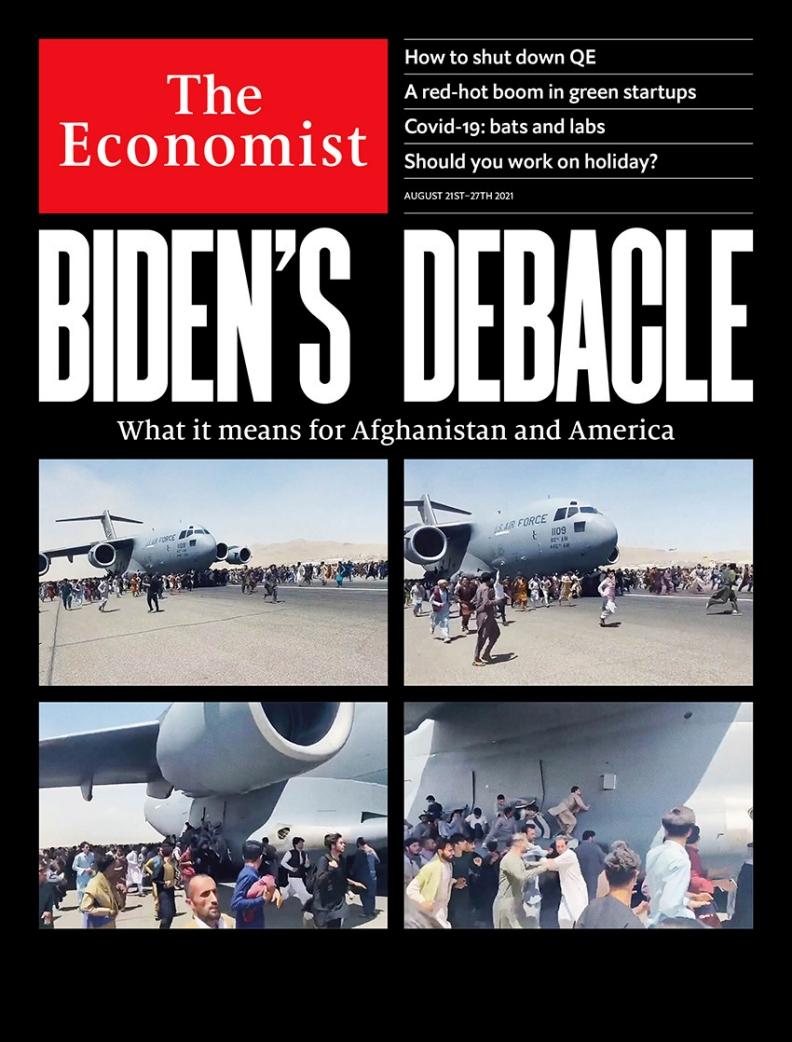 《經濟學人》封面。圖片來自The Economist 臉書