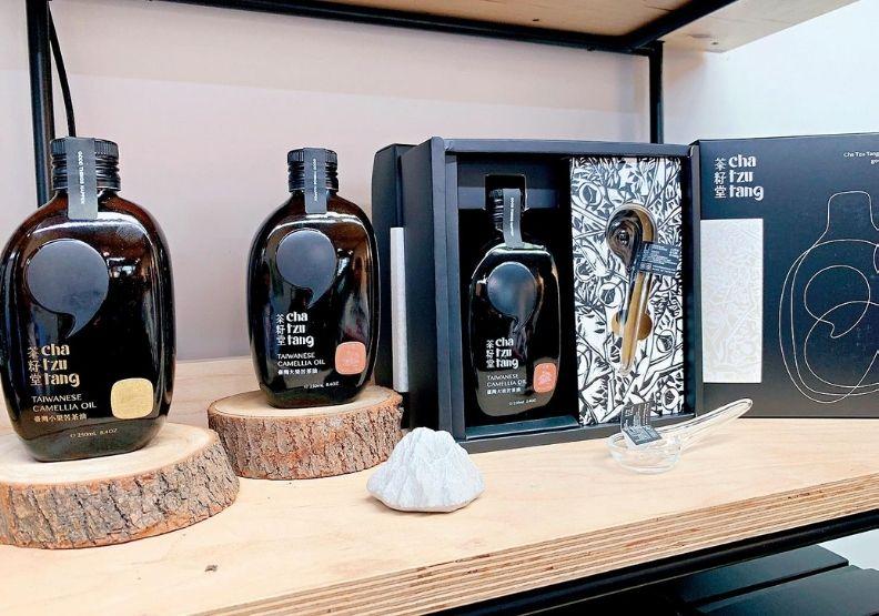 茶籽堂三度受金馬獎青睞為指定伴手禮,天下文化提供。