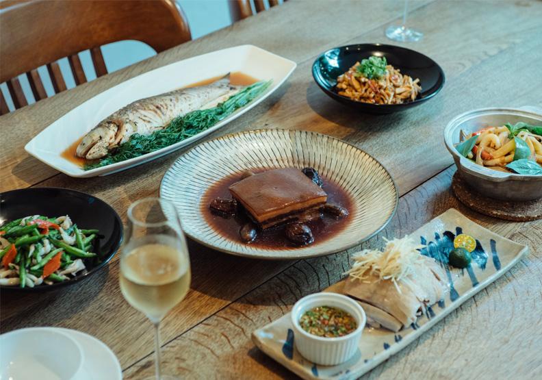 台北時尚亞洲菜餐廳「富錦樹台菜香檳」倍受矚目。取自富錦樹台菜香檳臉書