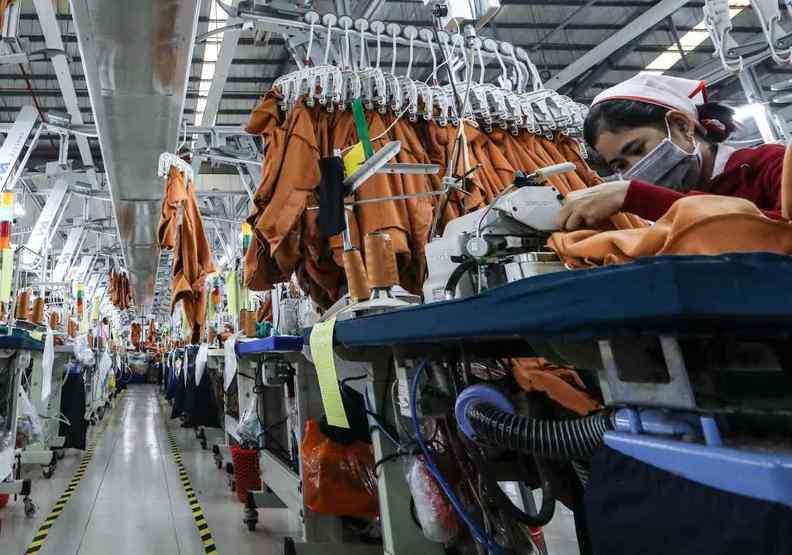 越南獨特的產業生態,讓疫情爆發後一發不可收拾。Rie Ishii攝