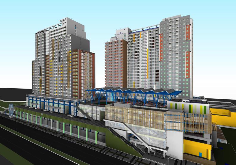 南港機廠社會住宅,深獲循環經濟精隨。大陸工程提供。