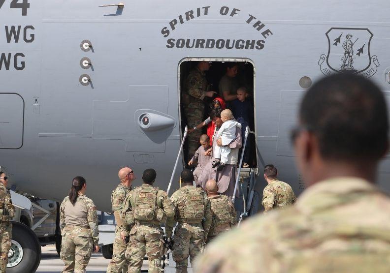美軍撤離阿富汗。圖片來自U.S. Army Central臉書