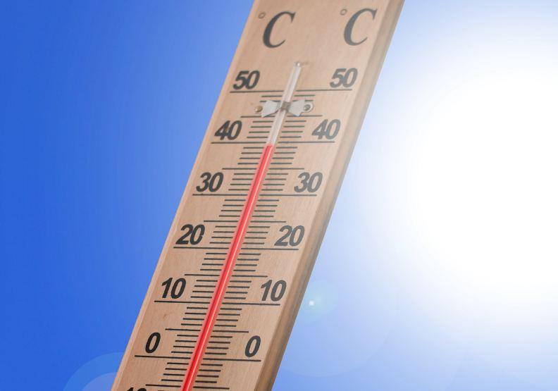 熱浪來襲,全球高溫一再飆高。圖片來自pixabay