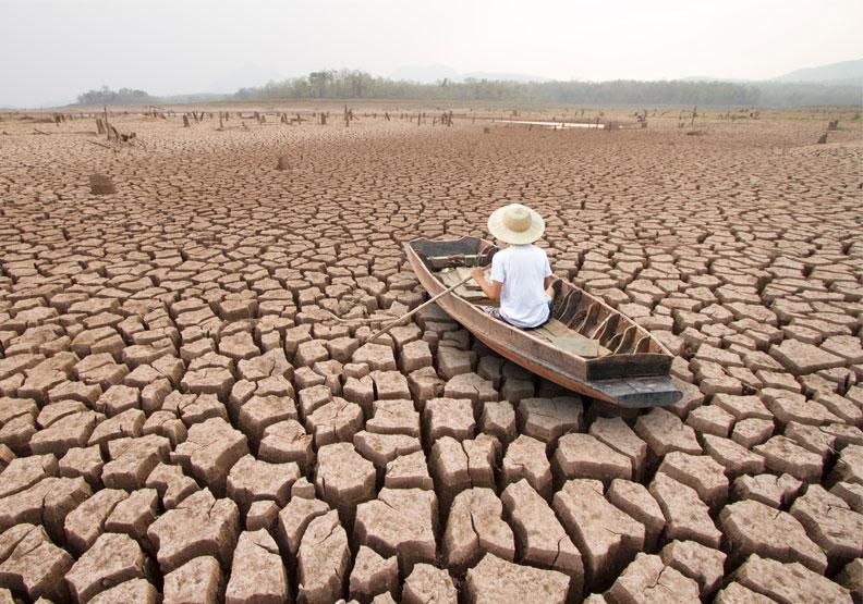 隨著氣溫逐年上升,海洋酸化與不尋常的極端氣候,已經對於人類飲食結構造成莫大的影響。僅為情境配圖,取自shutterstock