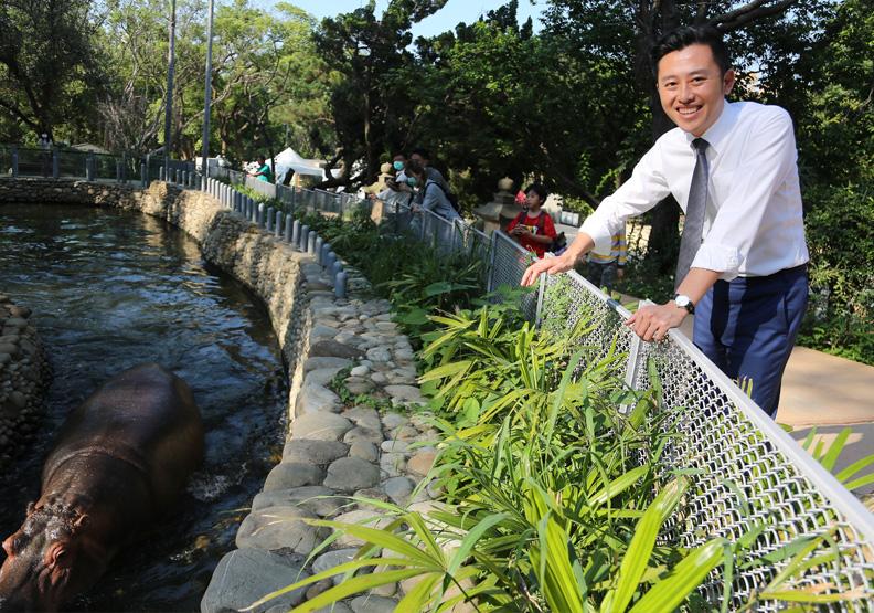 新竹市長林智堅認為,新竹市為台灣創稅高達1920億元,比六都中的二都還多,張智傑攝影。