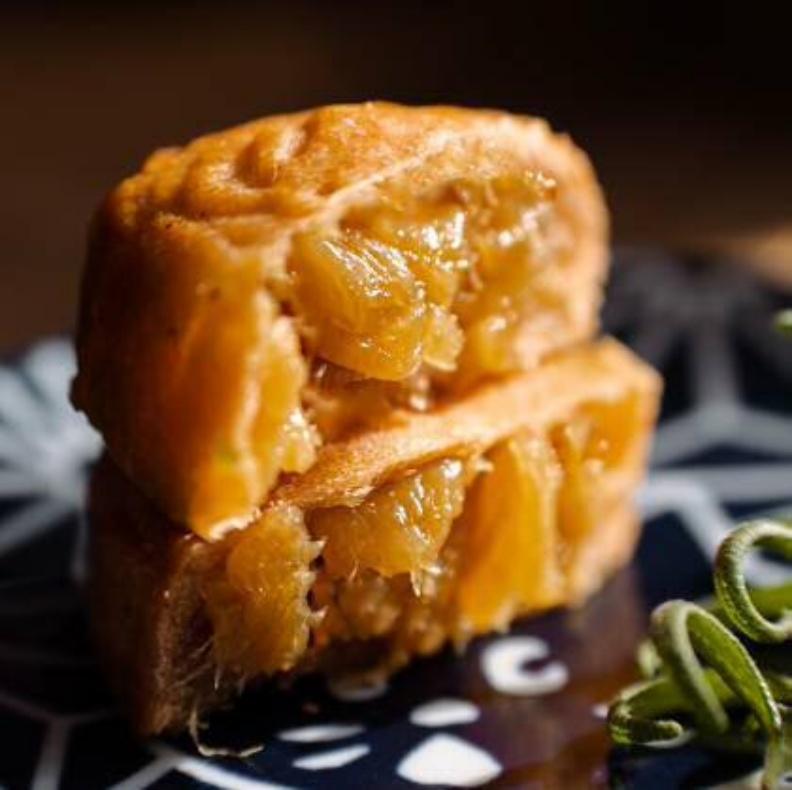 紅心鳳梨月餅。台北市衛生局提供