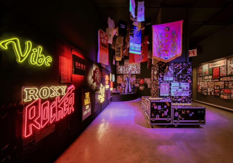「音樂現場」LiveHouse、音樂祭,讓獨立音樂野性而自由的成長。台北市文化局提供。
