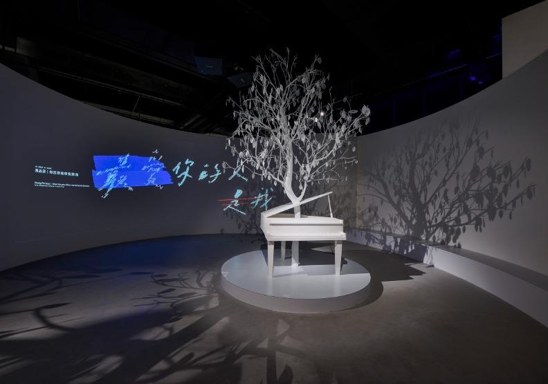 音樂愛情故事熟悉的情歌,讓觀眾想起酸甜的戀愛記憶。台北市文化局提供。