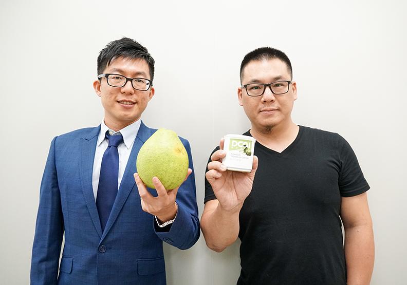 「柚香膠原露」創造柑味人生的輕盈圓舞曲-張文昌助理教授