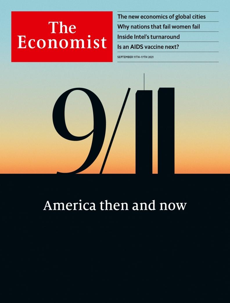 《經濟學人》封面。圖片來自The Economist臉書
