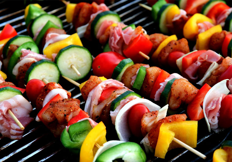 烤肉也能環保又健康。示意圖。Pexels by Pixabay