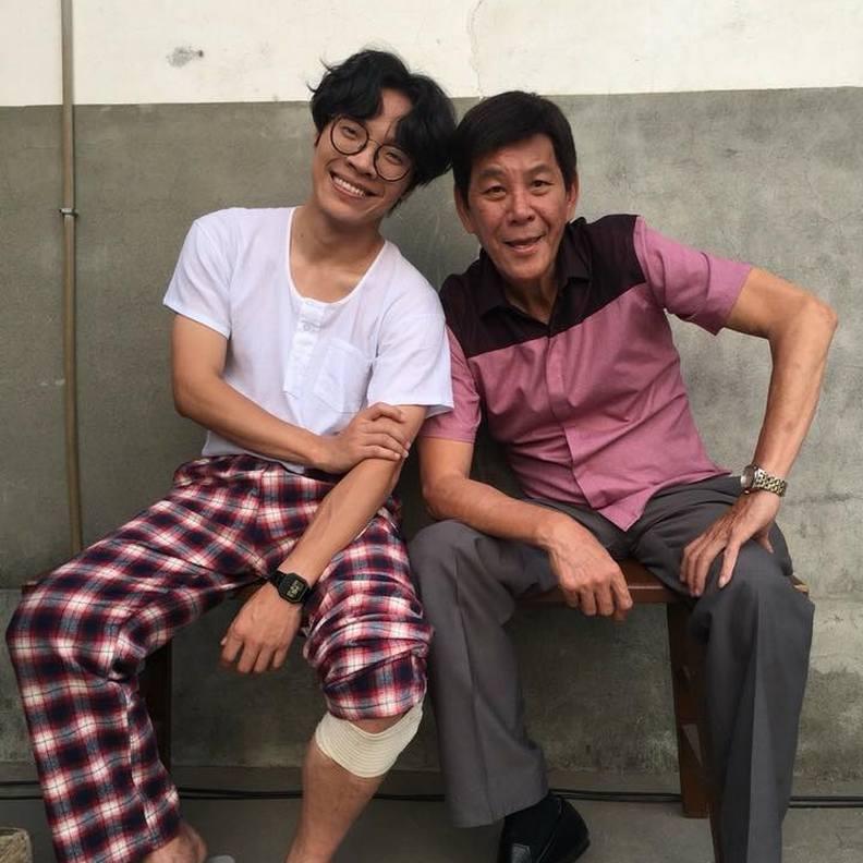 龍劭華和盧廣仲在《花甲男孩轉大人》有許多精彩對手戲。取自龍劭華臉書