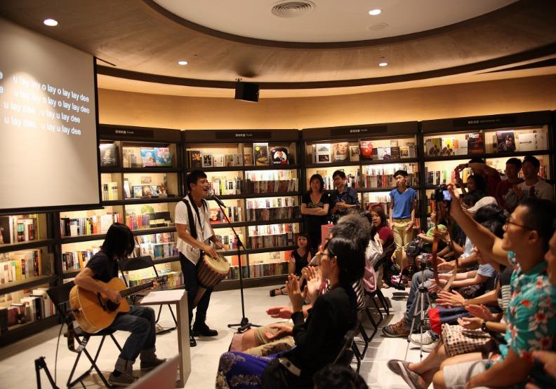 誠品生活全新台南大店預計規劃大型展演空間,作為南台灣藝文發聲舞台。誠品生活提供。