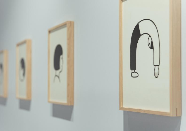 文青宅防疫多軟爛?誠品X日本插畫家台中展,曝平躺族私房樣貌