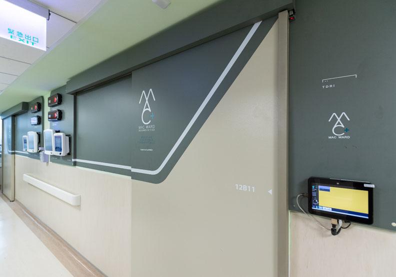 要建置負壓隔離病房,牽涉到不只醫療、醫護、還有感染控制動線與負壓管線配置,有許多專業議題及法規須考量。台灣設計研究院提供。