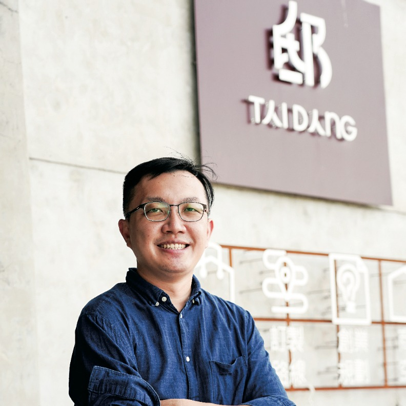 「邸Tai Dang共同工作空間」共同創辦人 劉誥洋。遠見天下文化攝。