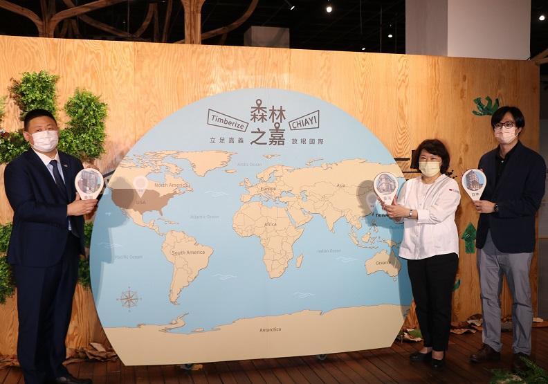 在木造建築的城市裡晃遊 黃敏惠市長:歡迎來到「森林之嘉」