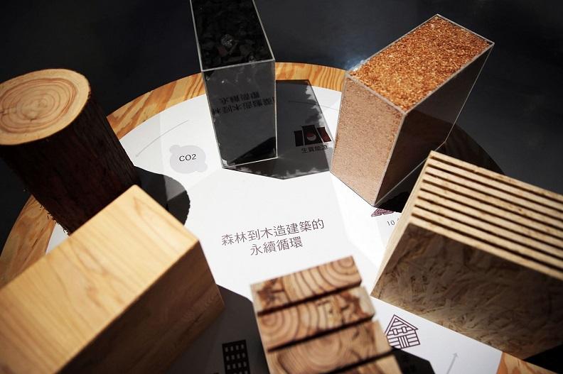 木材的永續性創造了都市裡的碳循環。