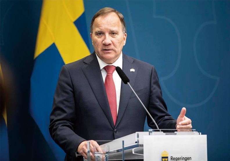 瑞典首相斯特凡.勒文。取自Stefan Löfven臉書