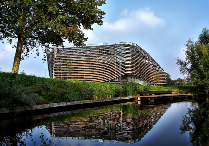 位於荷蘭北部的利瓦頓,是當地產官學界發展水科技研究的關鍵熱點。Wetsus研究中心與學院就位於此處。Wetsus提供。