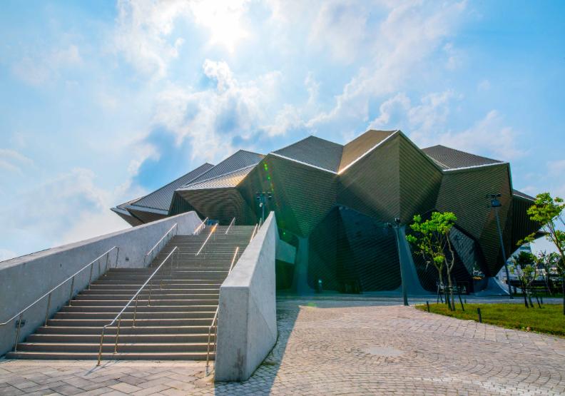台北流行音樂中心。「打開台北」提供。