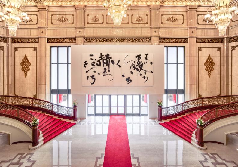 國家音樂廳的大廳。「打開台北」提供。