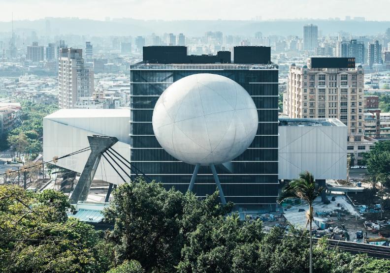 台北表演藝術中心。2021年「打開台北」提供。