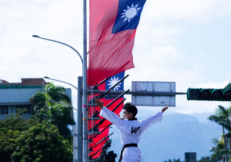 台灣應該不以戰爭手段,也能找出一條路來,僅為情境配圖。遠見池孟諭攝影