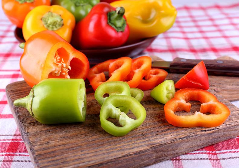 青黃紅彩椒營養大不同!消水腫、抗氧化、促代謝聰明吃