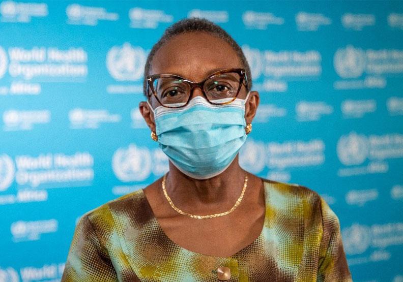 WHO非洲區總監馬提迪索.莫蒂(Matshidiso Moeti)。取自Dr Matshidiso Moeti twitter