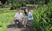 食物森林創辦人格倫&賈桂琳