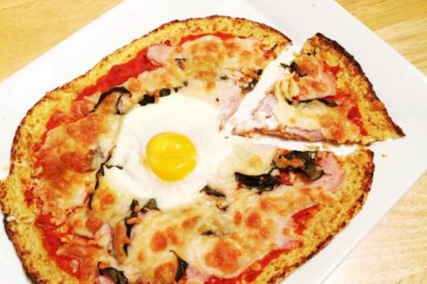低卡高蛋白、無麵粉披薩