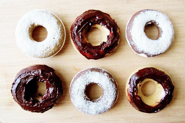 健身減肥也可以吃!低卡、低GI、非油炸甜甜圈