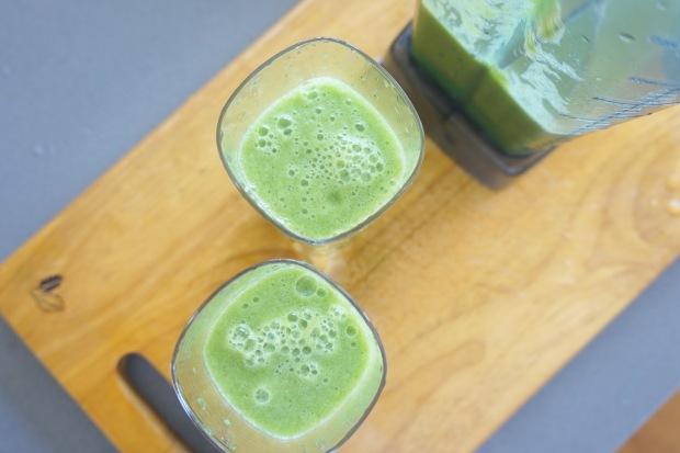 排毒健康蔬果昔(一):GREEN JUICE「綠色波波」