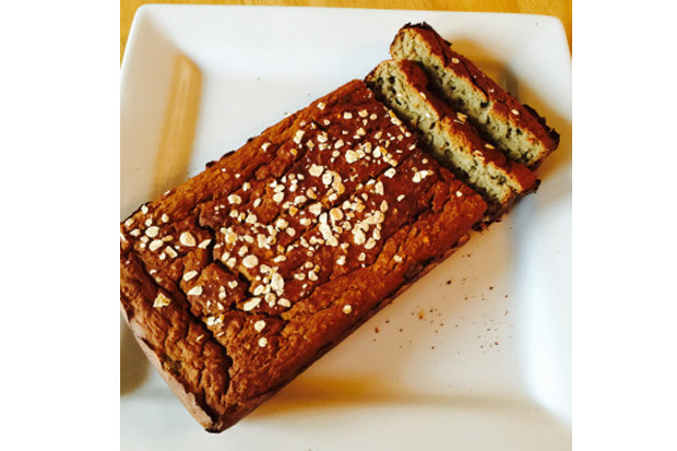 低卡甜點食譜-燕麥香蕉蛋糕!