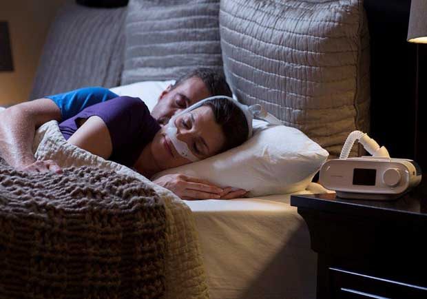睡眠呼吸中止重症患者:呼吸機讓我找回人生!