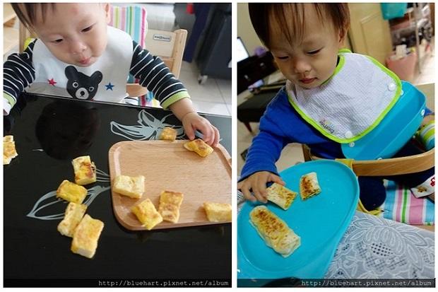 寶寶副食品必經之路─媽媽陪伴下的手指食物練習