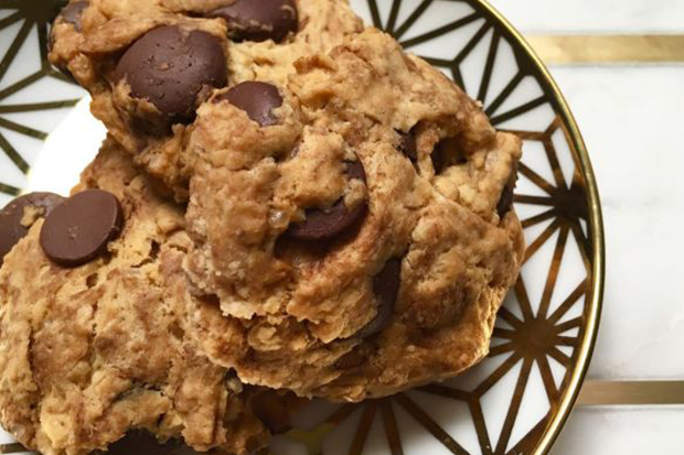 自製米國零食:美式巧克力軟芯餅乾