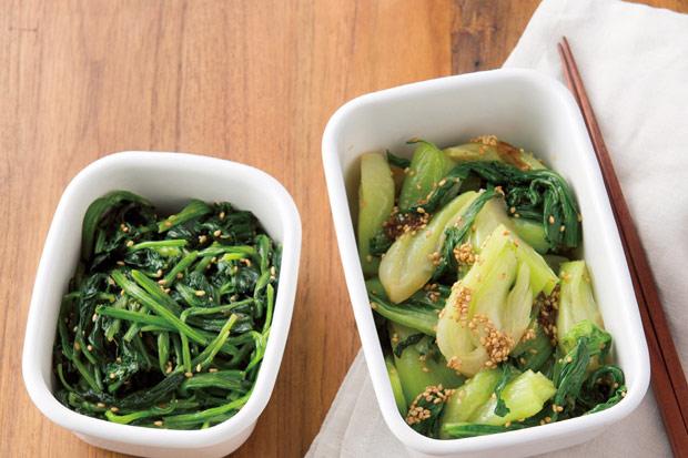 少醣蔬菜配拌醬,簡單吃清爽韓式涼拌菜