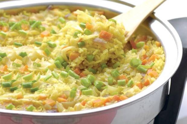 5 分鐘健康上菜!王明勇的養生食譜:鬱金蔬菜燉飯