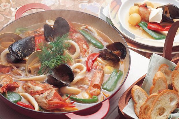 喝對湯,瘦身成功一半:馬賽海鮮湯