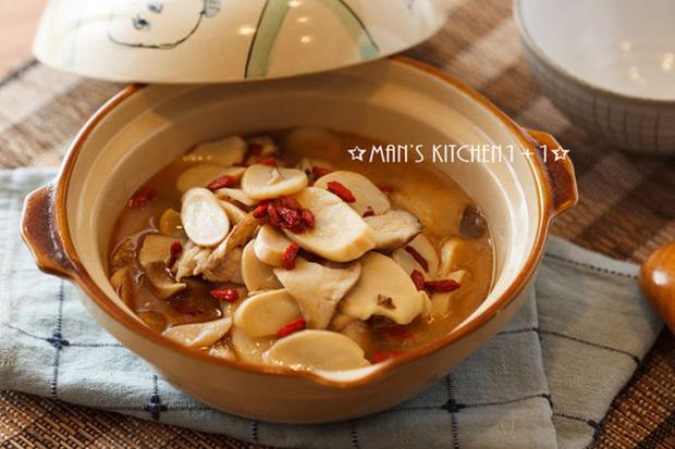 冷天中的暖心料理:麻油杏鮑菇
