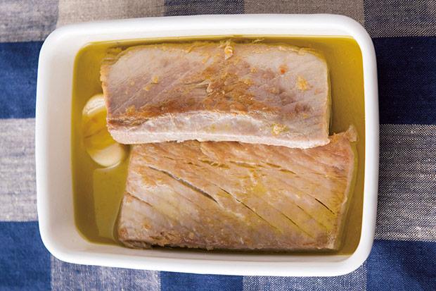 比市售罐頭更健康單純:油漬鮪魚